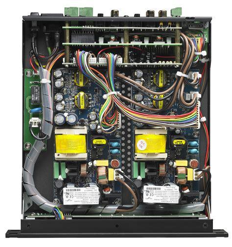 parasound zamp quattro  channel amplifier
