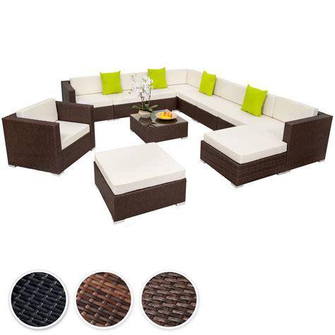 sofa sitzgruppe details zu poly rattan alu sitzgruppe lounge