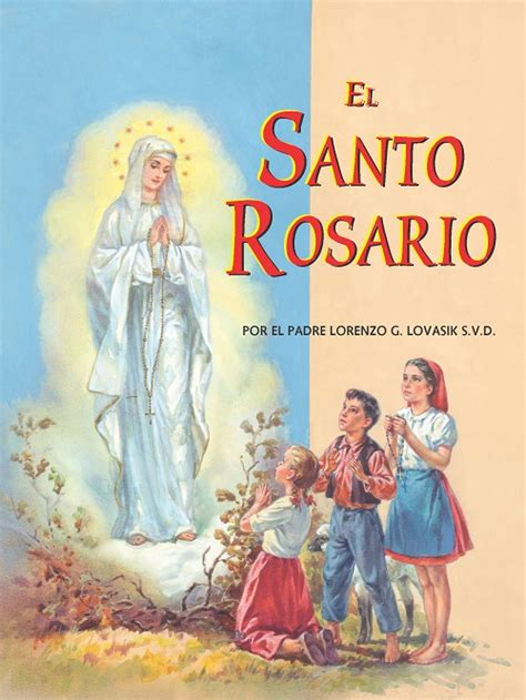 st joseph picture books st joseph picture book el santo rosario the holy rosary