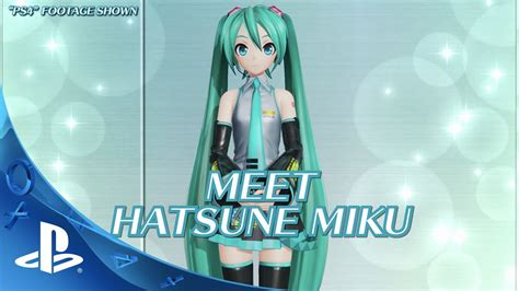 Ps4 Hatsune Miku Project X hatsune miku project x gameplay trailer ps4 ps