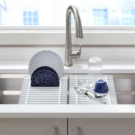 Kitchen Sink Accessory Kohler K 5540 Na Prolific Undermount Single Bowl Kitchen Sink With Accessories 33 X 17 3 4 Inch