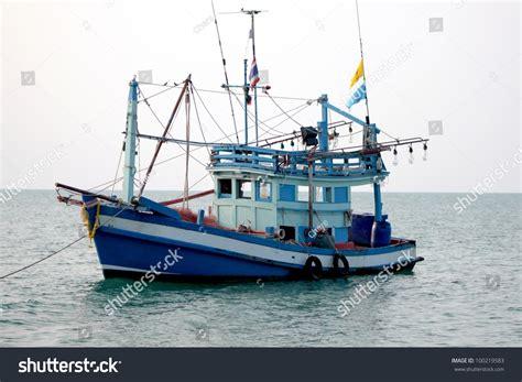 commercial fishing boats near me small fishing boats near island koh stock photo 100219583