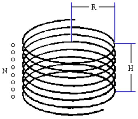 spiral coil inductor calculator list of tesla coil formulas