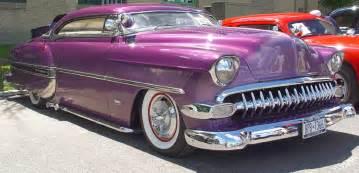 1954 chevrolet purple side angle