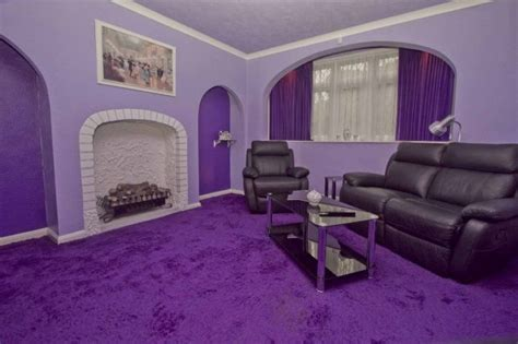 freaky ideas for the bedroom freaky weird purple house for sale on rightmove sick chirpse