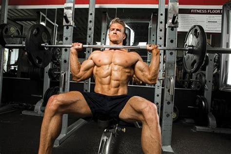 front shoulder pain bench press the seated front shoulder barbell press
