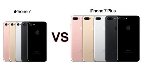 iphone 7 vs 7 plus comparison review pc advisor
