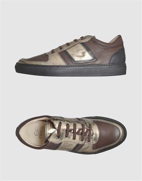 gianfranco ferr 233 sneakers in brown for black lyst