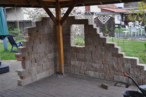grillecke im garten bauen neue gartensitz und grillecke grillforum und bbq www