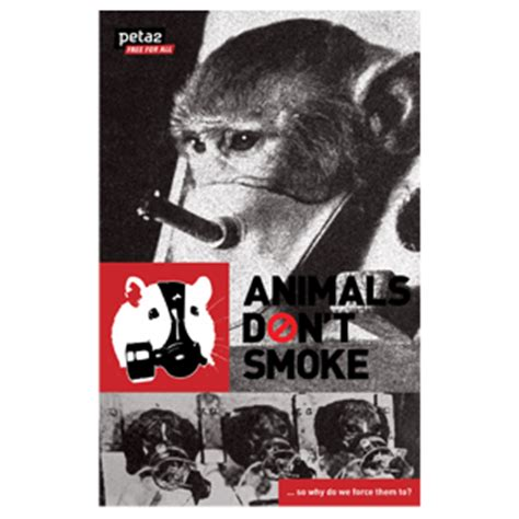 why peta kills books animals don t smoke leaflet peta catalog