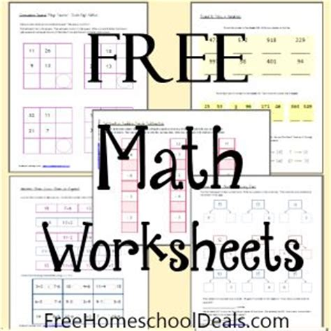 printable math worksheets homeschool 214 best images about math on pinterest homeschool fact