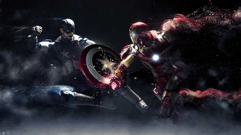 download wallpaper captain america hd captain america vs iron man wallpapers hd wallpapers