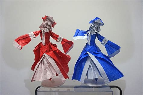 Origami Anime - 25 japanese anime characters in origami form