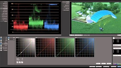 color correction in after effects with color finesse