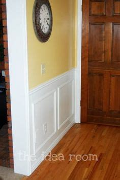 Diy Faux Wainscoting by 1000 Images About Bungalow Style On