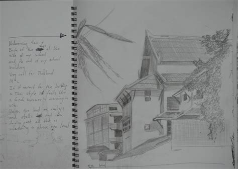 H Drawing Pencil by A Sketchbook Of Townscape Drawings My Drawing Course