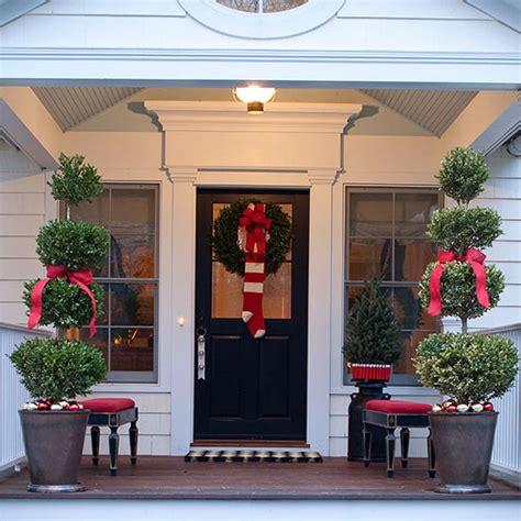 veranda verzierung tolle weihnachtsdeko ideen im freien 30 inspirierende