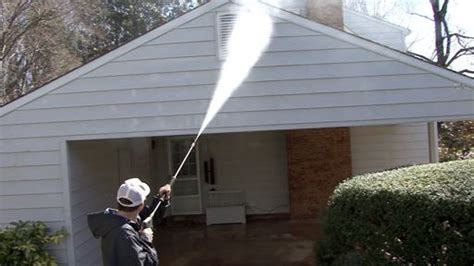 how to pressure wash a house how to pressure wash a house monkeysee videos