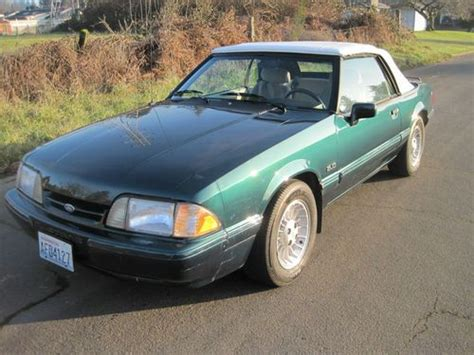 find used 1990 mustang convertible 7 up edition low