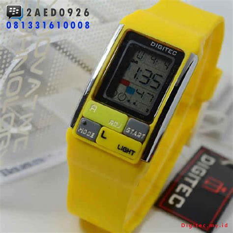 Jam Tangan Pria Cowok Digitec V1618 Original 2 jam tangan anti air digital jam simbok