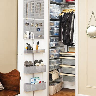 Saving Small Closet Spaces With Stainless Steel And Plastic Hanging Shoe Rack Storage The Tip Save Space In Your Closet The Container