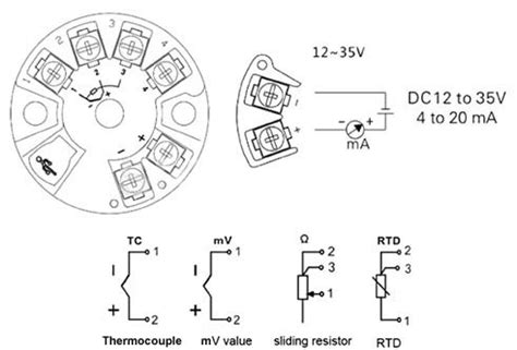 Smart Temperature Transmitter Rtd Thermocouple Resistance