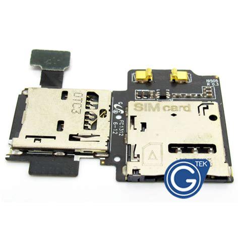 Simcard Mmc Samsung S4 samsung galaxy s4 lte 4g i9505 sim card and memory card flex s4 lte i9505 galaxy s