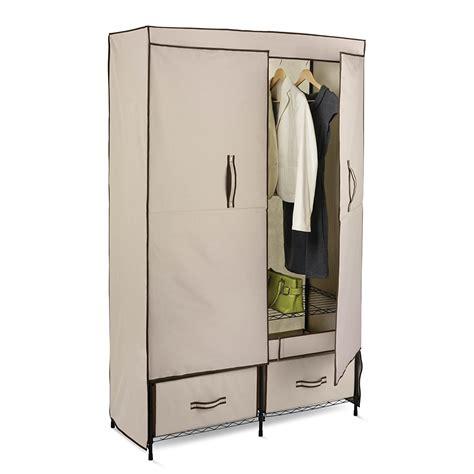 closet amazon storage portable travel closet wardrobe drawers door