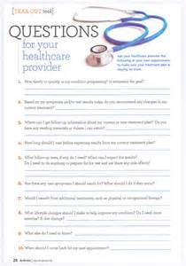 questions for your healthcare provider spine consultants