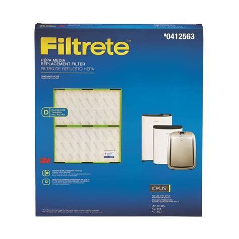 shop filtrete idylis replacement hepa air purifier filter at lowes
