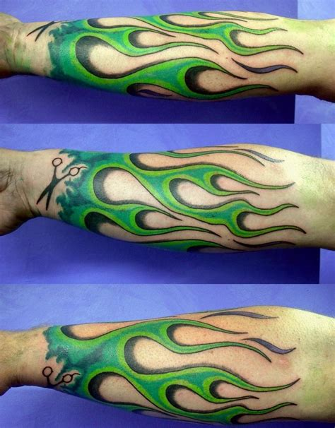 blue flame tattoo deane s waihi studio new zealand waihi