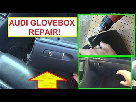 2006 audi a4 glove box audi a4 a3 a6 glovebox repair audi glove compartment