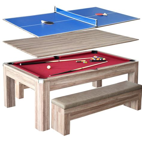 pool table combo set 7 newport pool table set with benches gametablesonline com