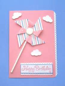 color handmade birthday cards trendy mods