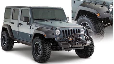 Jeep Styles Bushwacker Factory Coverage 9 5 Quot Width Pocket Style Fender