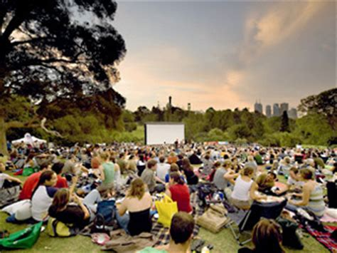 Botanical Gardens Cinema Melbourne Melbourne Outdoor Cinema Guide