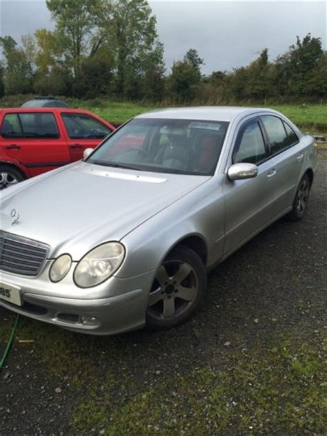 raymond hennessey 2004 mercedes e class for sale in athy kildare from