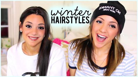 easy hairstyles niki and gabi 4 quick and easy hairstyles for winter with