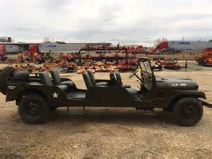 Stretched Willys Jeep 1953 Stretched M 38a1 Limo Sold Ewillys