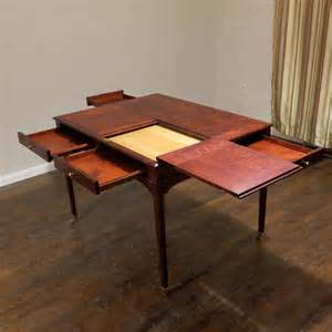 puzzle table traditional new york by hazeltree designs