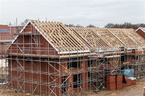 house builder profit margin leads to the number of houses being built