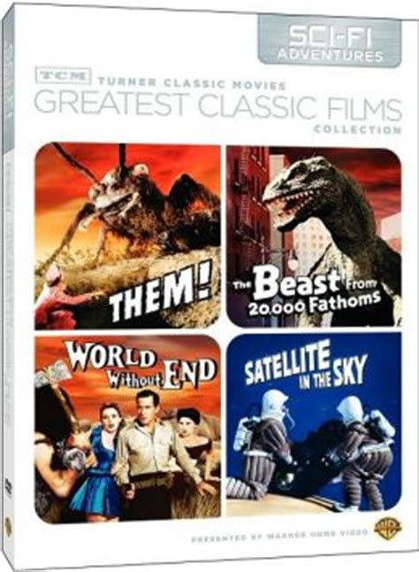 Turner Classic Movies Gift Cards - tcm greatest classic films collection sci fi adventures by turner classic movie