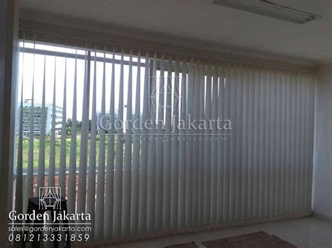 Vertical Blind Sp Semi Blackout Tirai Gordyn Gorden vertical blind sp 8370 semi blackout blinds jakarta