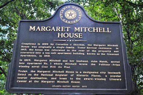margaret mitchell house gone with the wind trail just short of crazy