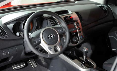 2010 Kia Forte Interior Car And Driver