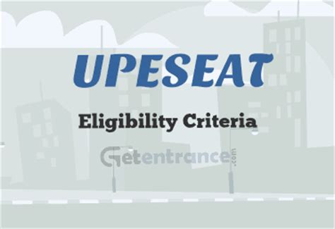 Age Limit For Mba Admission by Upeseat 2018 Eligibility Criteria Documents