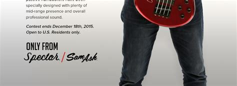 Sam Ash Sweepstakes - doug wimbish signed spector bass giveaway enter for your chance to win sam ash