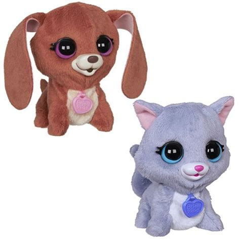 fur real pets furreal friends luvimals pets wave 5 set hasbro furreal friends plush at