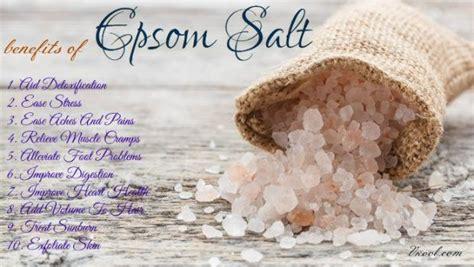 Ionic Salt L Benefits by Top 10 Health Benefits Of Epsom Salt