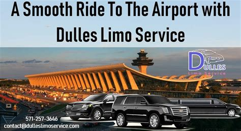 Limo Ride To Airport by A Smooth Ride To The Airport With Dulles Limo Service